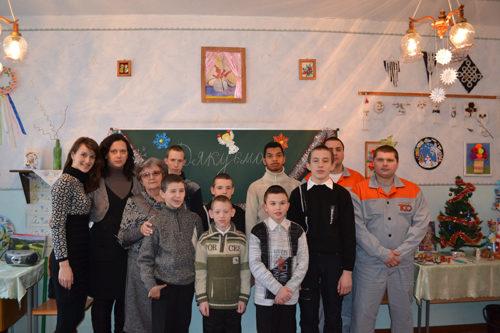 Воспитанники Шевченковского детского дома-интерната в преддверии Нового года  получили подарки от Компании ТСО