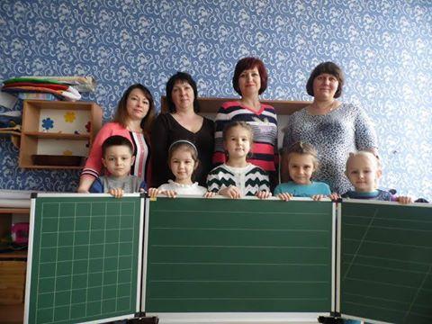 Дошкільний навчальний заклад № 1 «Малятко» міста Сватове  отримав подарунок від Компанії ТСО
