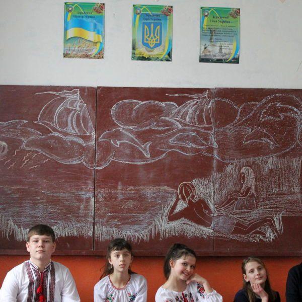 Малоантонівське НВО - дитячий садок. Участь приймали учні 6-го та 8-го класів.