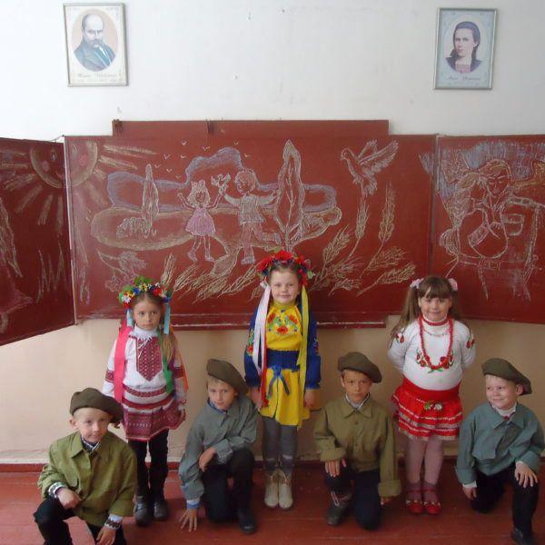 Полянської ЗОШ І-ІІІ ступенів, 1 клас