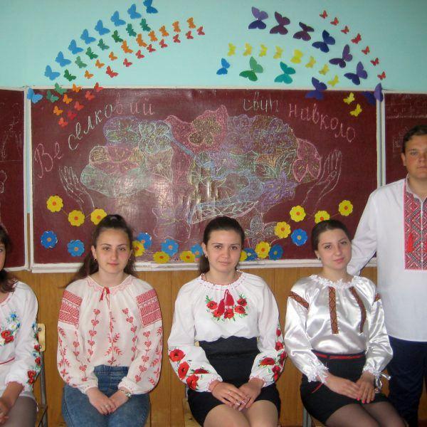 учні 10 класу СЗШ І-ІІІ ст. С.Вільшанка